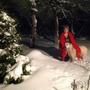 О.... Как Барри любит зиму!!!!  Вот фоткаться не хочет. Как увидит, что его снимают, отворот поворот.