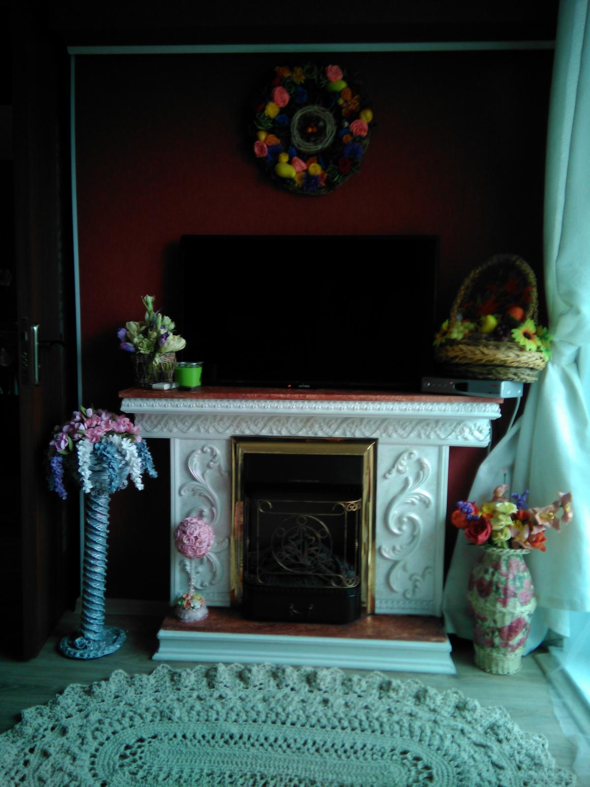 Декоративные камины своими руками из коробки фото 485