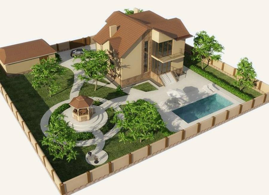 Программа для проектирования участков и домов бесплатно скачать