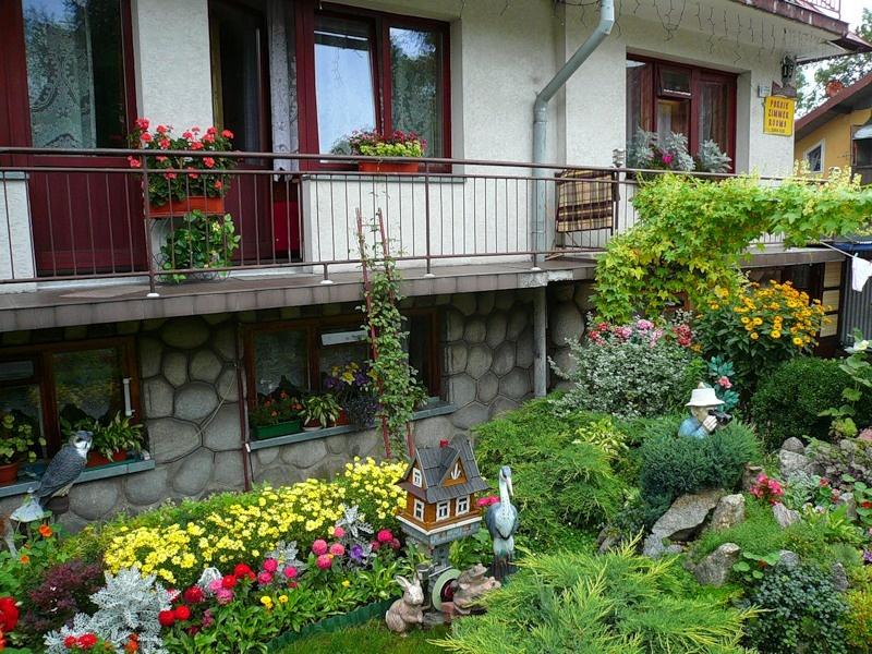 Дизайн палисадника перед домом своими руками