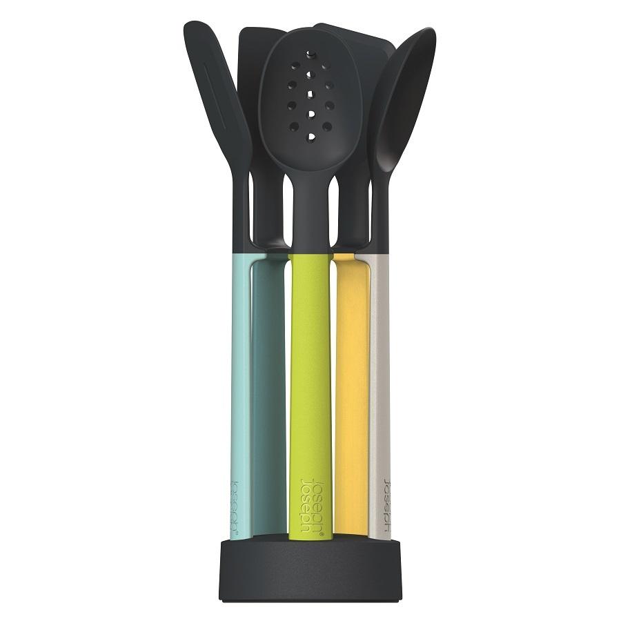 Набор силиконовых кухонных инструментов Elevate Оpal на подставке