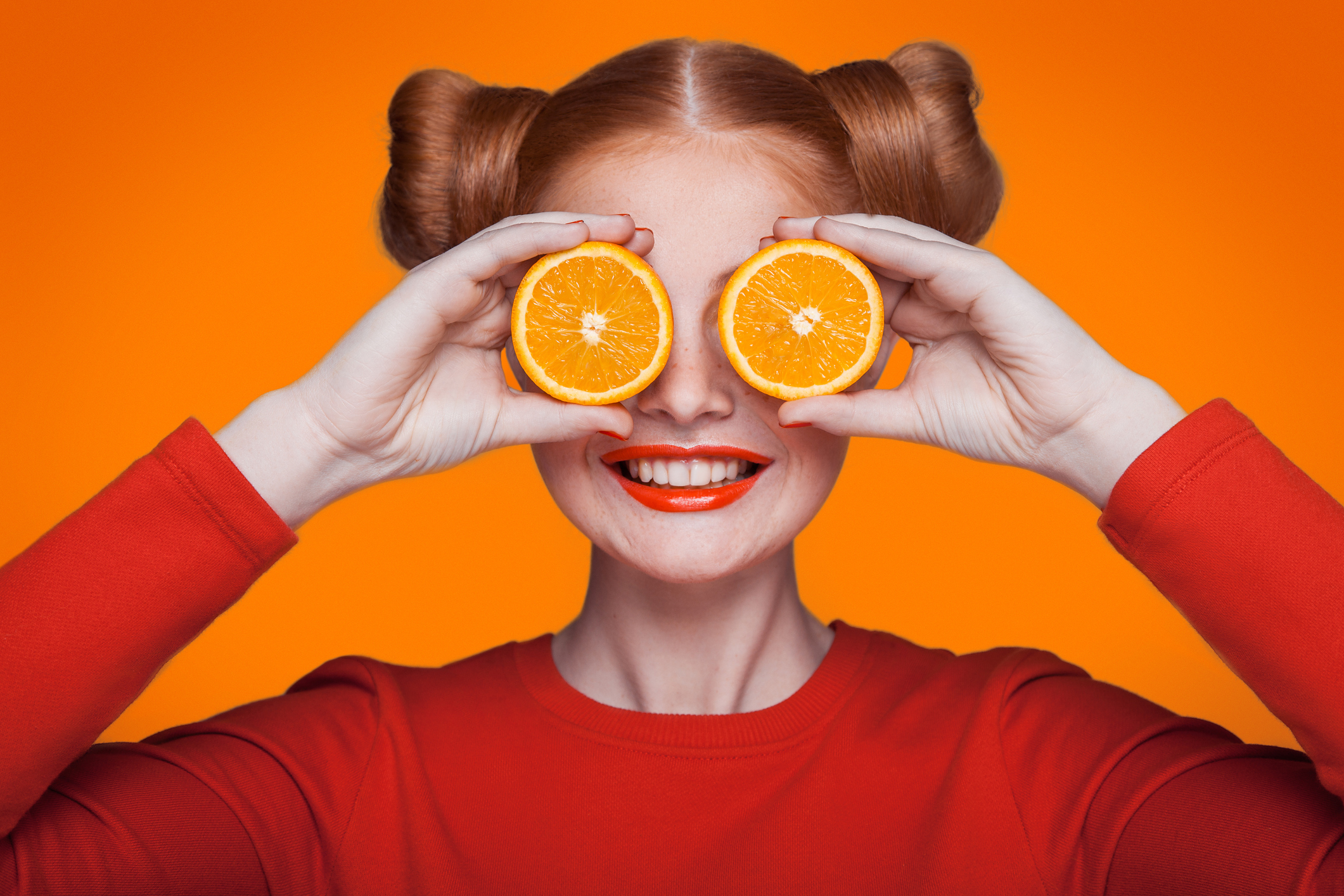 Цвет настроения - оранжевый