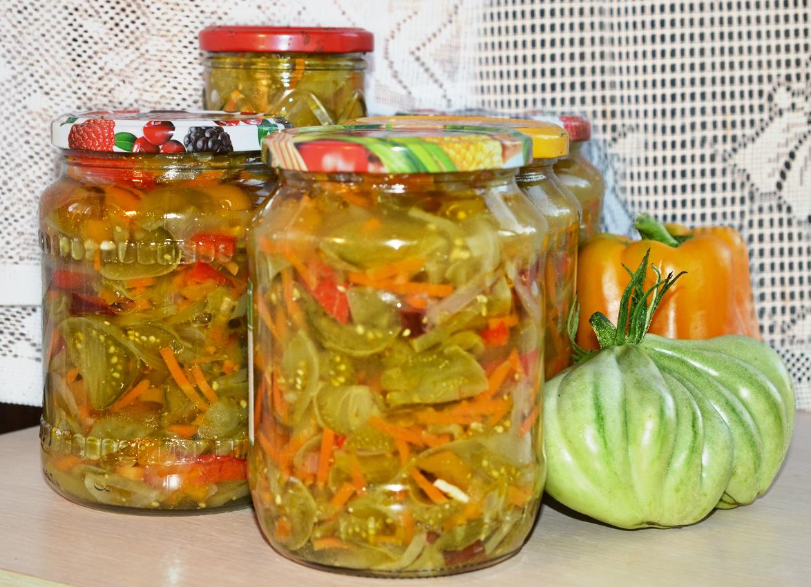 материала салат на зиму из зеленых помидор с картинками строительство разделено девелопером