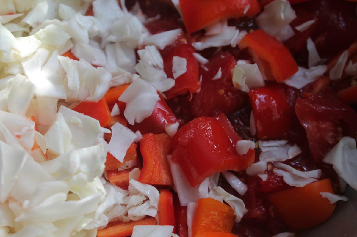 Салат на зиму с острый