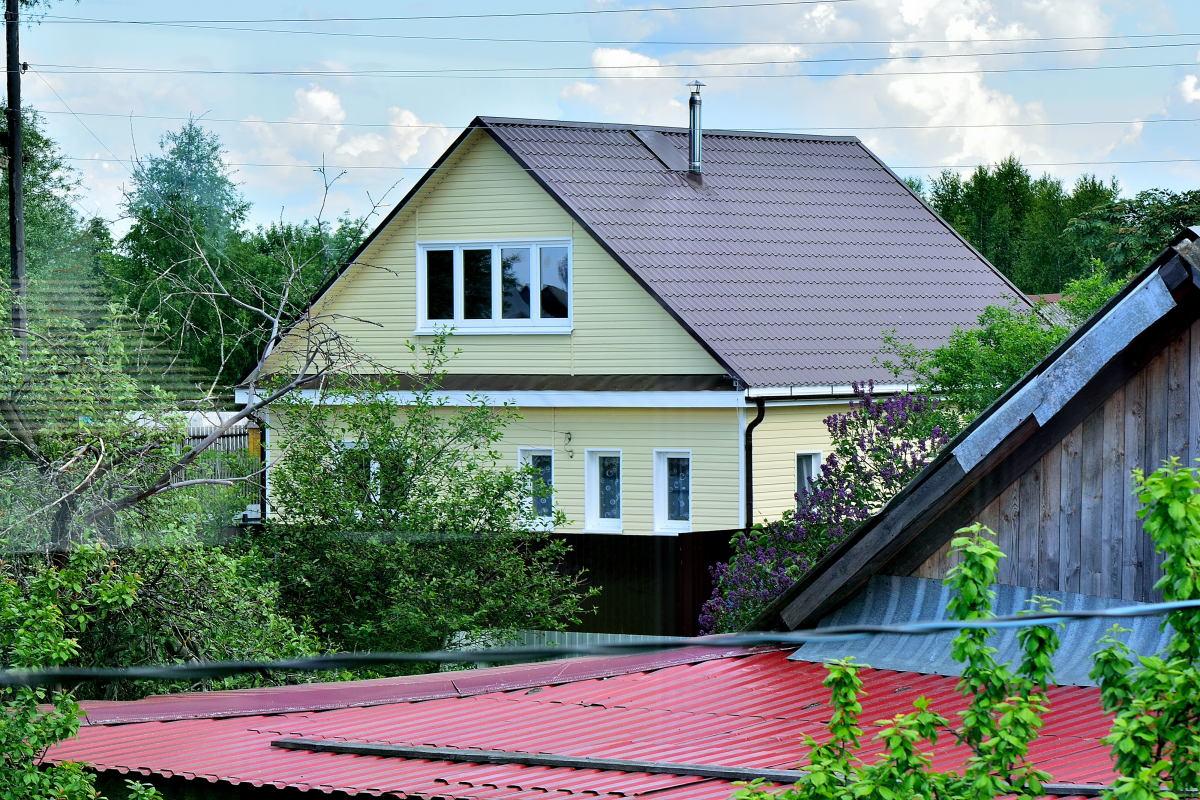 крыша на даче в картинках цвета фуксии