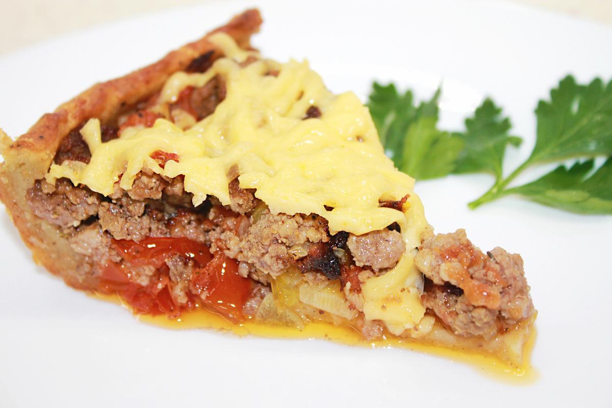 Мясной пирог за 15 минут 👌 Рецепты с фото